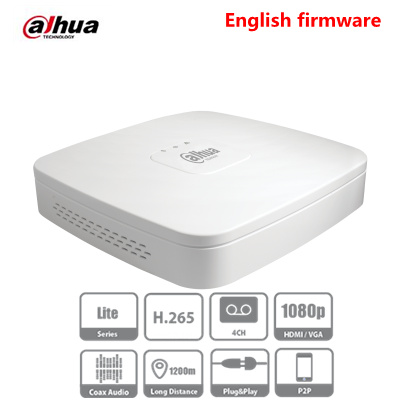 DAHUA XVR4104C-X1 XVR4108C-X1 4 Channel Penta-brid 720P Smart 1U Digital Video Recorder XVR NVR HDCVR Up To 10TB Capacity