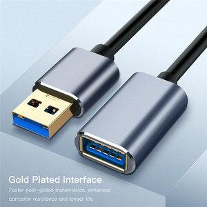 Image 4 - 0,5 m 1m 1,5 m USB Verlängerung Kabel Super Speed USB 3,0 Kabel Männlich Zu Weiblich Daten Transfer Sync kabel Code Für PC Kamera Maus