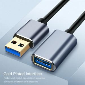 Image 4 - 0.5M 1M Cáp Nối Dài USB 1.5M Siêu Tốc Độ USB 3.0 Male Truyền Dữ Liệu Đồng Bộ cáp Mã Cho PC Camera Chuột