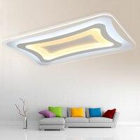 New Acrylic Modern Led Chandelier AC85 265V White Chandelier lighting For Living Room Bedroom Foyer Fixture Free Shipping