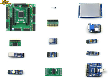 Altera Cyclone Board EP3C5 EP3C5E144C8N ALTERA Cyclone III FPGA Development Board +13Accessory Module Ki t=OpenEP3C5-C Package A