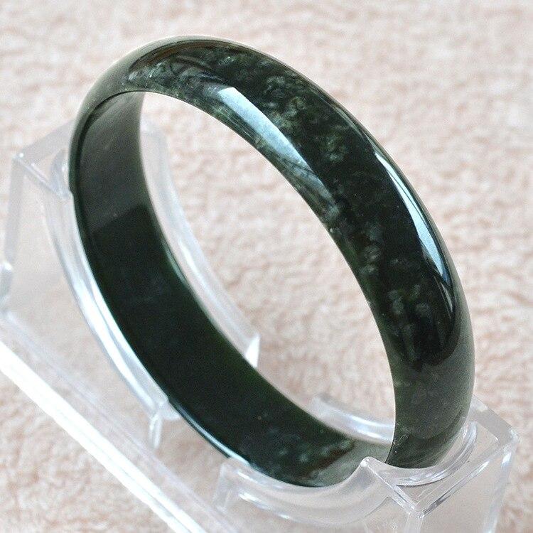 62cfaf66402b Brazaletes de Jade Natural de alta calidad de grado A Joyería de pulsera de  Jade de piedras ...