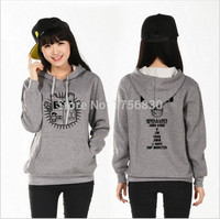 Kpop EXO Padded LUHAN KRIS SEHUN LAY Plus Thick Velvet Sweater Hooded Clothes K Pop Jacket