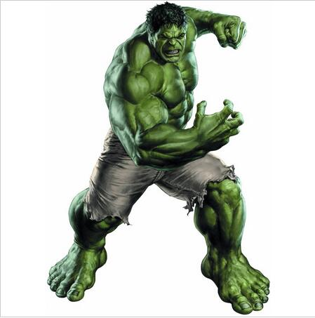 New Superhero Hulk Fashion Marvel Comics Retro Silk, Home Decor- ի պաստառի չափը 27X40 սմ