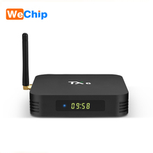 Wechip TX6 أندرويد 9.0 صندوق التلفزيون 4G 32G/64G Allwinner H6 رباعية النواة 2.4G + 5G المزدوج واي فاي BT 4.1 4K صندوق التلفزيون HD H.265 يوتيوب مجموعة صندوق التلفزيون