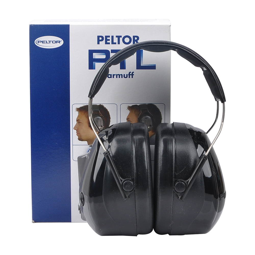 3M PELTER H7A-PTL Anti Noise Headset Press to Listen Earmuff Shooting Ear Protection GM11011