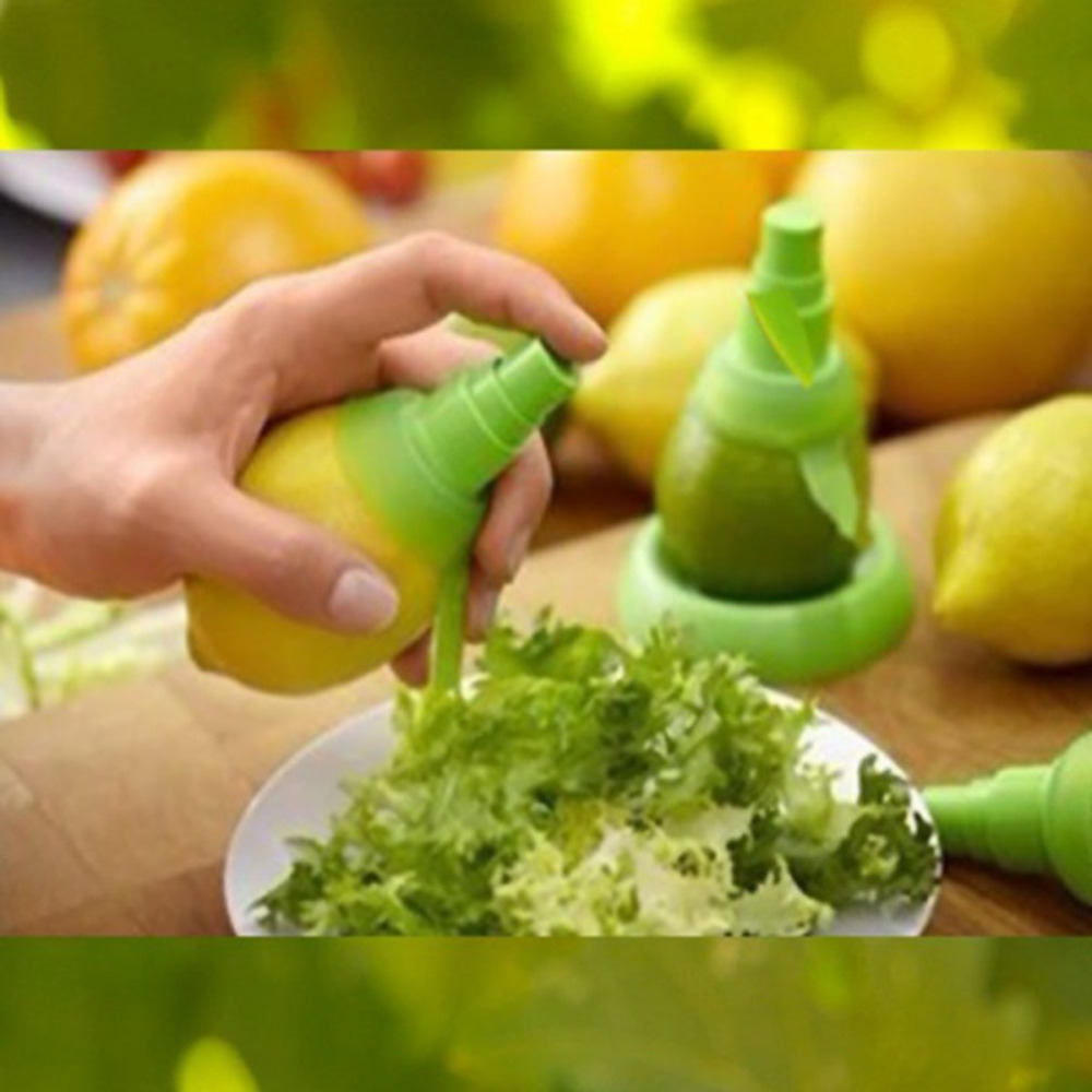 2018 NEW Mini Squeezer Juice Juicer Lemon Orange Sprayer Fruit Spray Mist Kitchen Juicer Tool Gadget Tools fruit leaf knife stem remover gadget strawberry hullers kitchen tool