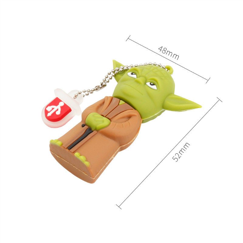 Image 5 - Crazy Hot Star Wars Cartoon Flash Memory Stick 32GB 64GB 128GB 8G 16GB USB Flash Drive 2.0 High Quality Pen Drive Robot Pendrive-in USB Flash Drives from Computer & Office