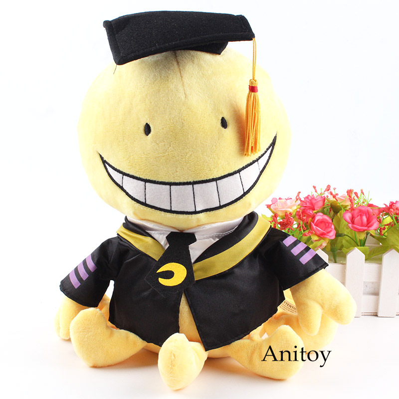 Anime Assassination Classroom Pulsh Toy Korosensei Plush Doll Staffed Toy for Children 29cm