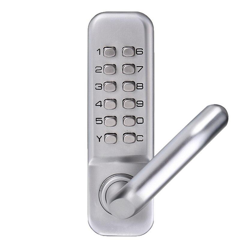 MTGATHER водостойкая Рычажная ручка Механическая комбинация Lockey цифровой Numberal Deadbolt дверь кодовый замок
