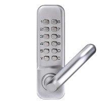 MTGATHER Waterproof Lever Handle Mechanical Combination Lockey Digital Numberal Deadbolt Door Coded Lock