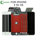 30PCS/LOT Free DHL Black White High Quality No Dead Pixel LCD Display With Touch Screen Digitizer Assembly For iPhone 5S 5 5C