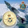 2015 heiße Neue Gold Überzogen ARMY Münze Großhandel Royal Air Force Gedenk Nach Münze Phantasie Herausforderung Münze
