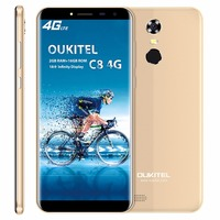 Original Oukitel C8 4G LTE Mobile Phone MTK6737 Quad Core Android 7 0 5 5 HD