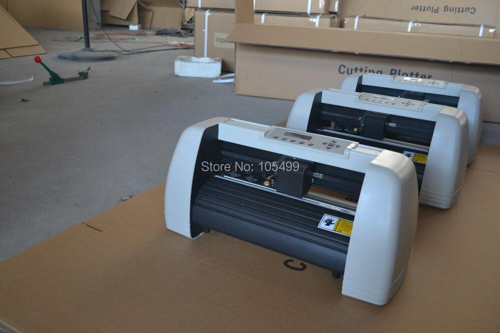 2014 new model cheap vinyl cut plotter machine cutting ploter a3 free ship argentina
