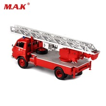 цена на Cheap Kids toys Scale Diecast car Pompiers Vehicles Ladder Fire Truck Model Car Model Kids Toy