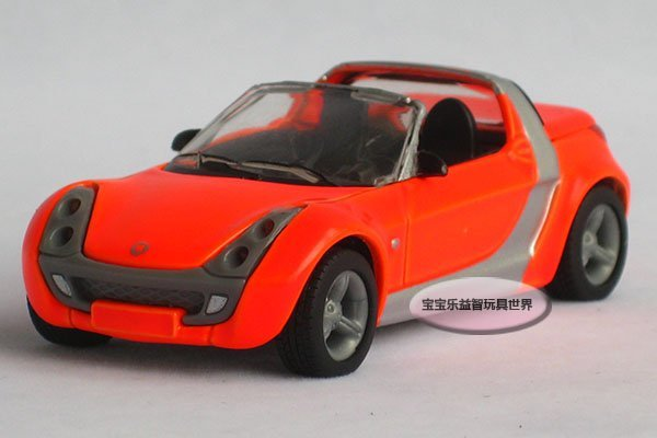 Free shipping--Mercedes Benz Smart Roadster/ alloy model car / toy gift Christmas gift car electronics