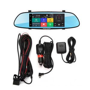 Image 5 - 7 zoll 1080P Volle HD Auto DVR Dash Kamera Spiegel Unterstützung Für Android GPS Navigation Wifi Mehrere Sprachen Auto recorder Kamera