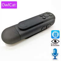 Portable Pocket Video Audio Camcorder 940nm Invisible IR Night Vision HD 1080P Police Worn Camera DV Recorder Mini SD Camera