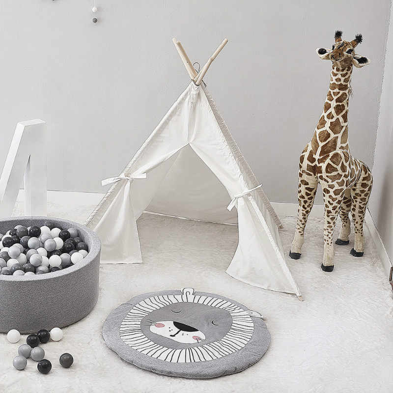 Младенческой новорожденных мультфильм шаблон ребенка играть коврики дети ползать ковры детские, гимнастические активности милый одеяло