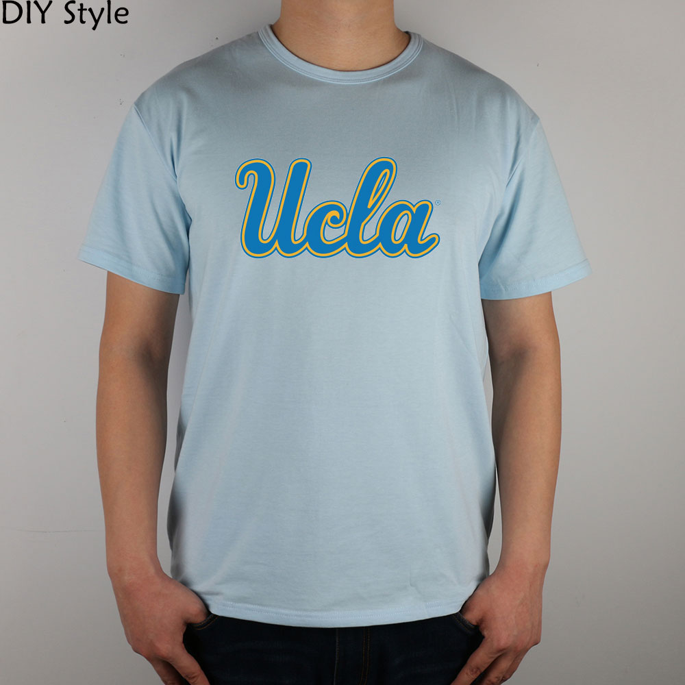 Color printing ucla - Ucla T Shirt Lycra Cotton New Arrival Fashion Brand T Shirt For Men Summer High