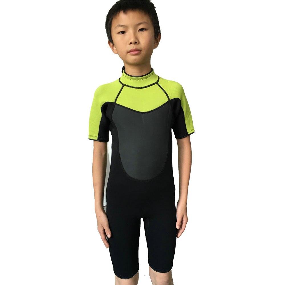 Realon New Design 3Mm Neoprene Shorty Baby Wetsuit Kids -7089