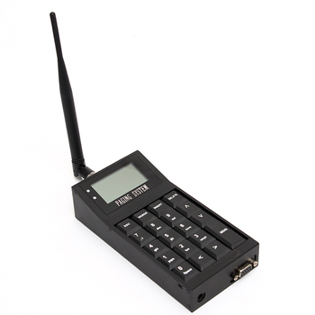 Pocsag paging transmitter, wireless calling systems for restaurant, hotel, hospital, work with PC ,software