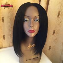 Brazilian Human Hair Bob Wigs For Black Women Short Hair Lace Front Wig Bob Style 130% Density Glueless Bob Full Lace Wigs Cheap