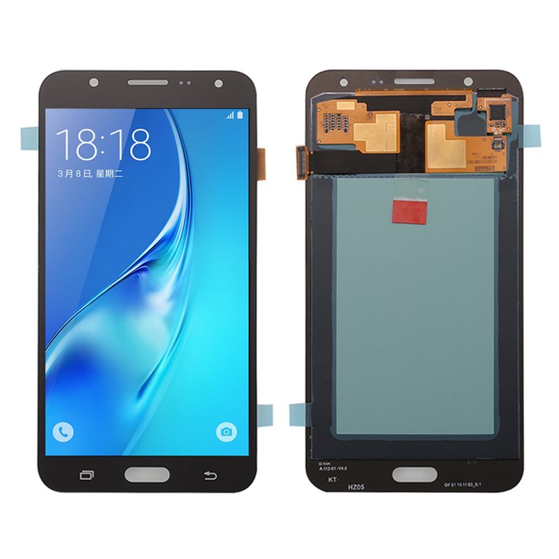 LCD Display + Touch Screen With Digitizer For Samsung Galaxy J700H J700M J700DS SM-J700M Assembly + Free Shipping + Tracking No