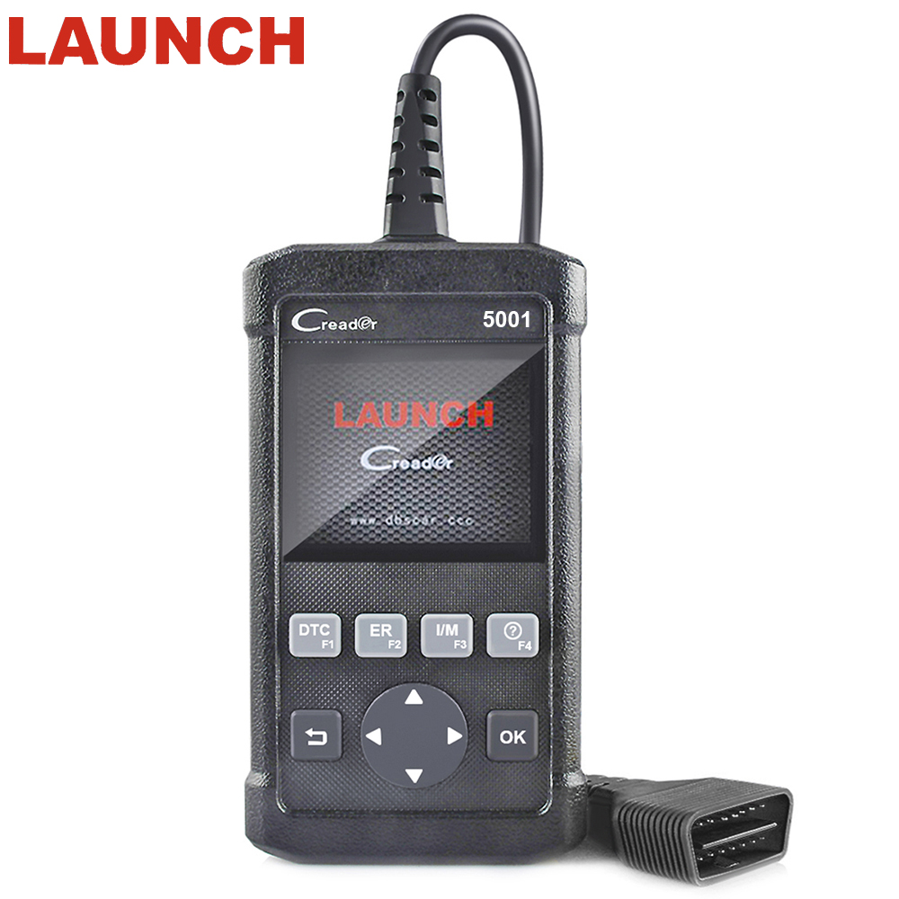 LAUNCH Creader 5001 ODB2 OBD II Autos scanner Support Multi-language For VW/BMW/ BENZ full OBDII/EOBD auto diagnostic scanner