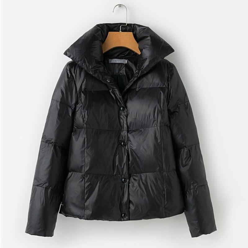 Manteau Coton 2018 Mince Black De Veste Hiver Court Nouvelles Femmes Outwear Vestes Poulet Unique Occasionnel Rembourré Bouton wqEYYCUxS