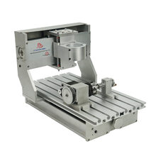 3axis 4axis 3020 CNC Milling Engraving Drilling Machine router frame without motor or with motor(China)