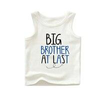 Оптовая белые танки мальчик танки платье большой брат летом не рукавом футболки папа MVP танк оптом футболки mix размеров и стили