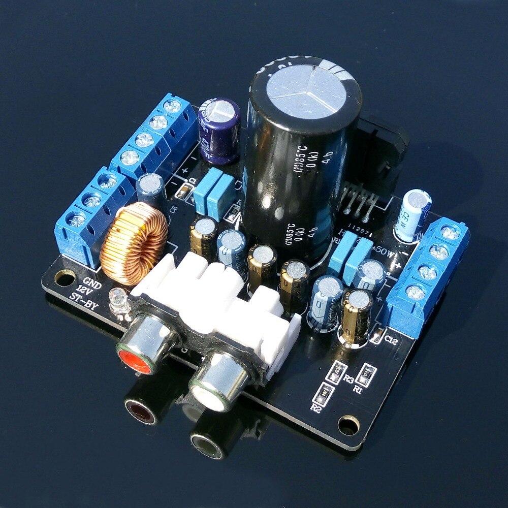 Simple power amplifier 4x50 W 92