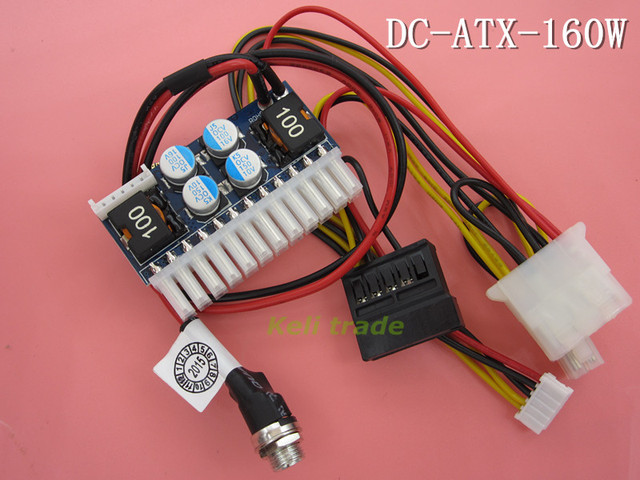 DC-ATX-160W 160W Power Supply Module 24pin mini-ITX DC ATX power supply (PICO BOX DC-ATX PSU) FZ0643 Free Shipping Dropshipping