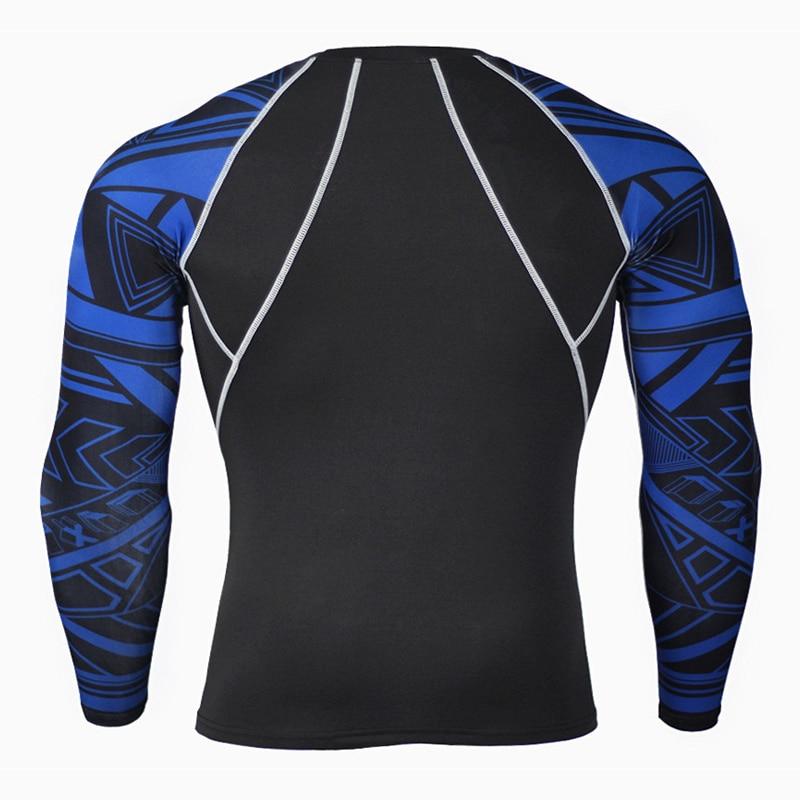 Crossfit kläder manar kompressionstrumpor T-shirts Fitness - Herrkläder - Foto 4