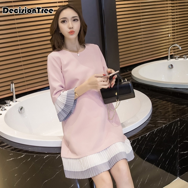 2019 new maternity clothing shirt large turn down collar long blouses pregnant clothing plus shirt