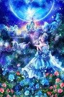 Cinderella 5d Decoration Paintings Mural Bedroom Cross Stitch Gift Diamond Diy Hand Made Full Diamond Souvenir
