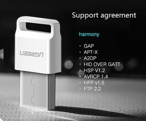 Image 4 - UGreen USB interface Bluetooth 4.0 Adapter Computer Notebook Desktop Receiver APTX Audio Transmitter