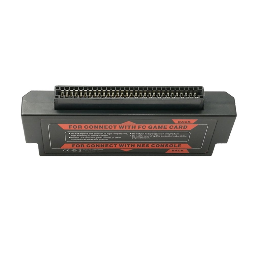 60 Pin To 72 Pin Converter For FC To NES Adapter For Nintendo NES Console System For FC To NES Converter (Random Color)