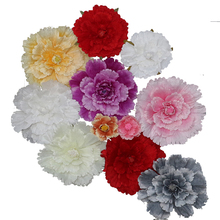Wedding wall decoration large-scale simulation peony flowers silk outdoor garden shooting props and ornaments