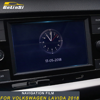 Gelinsi For Volkswagen Lavida 2018 Car Styling Navigation Screen Monitor Film Protector Cover Trim Sticker Interior Accessories