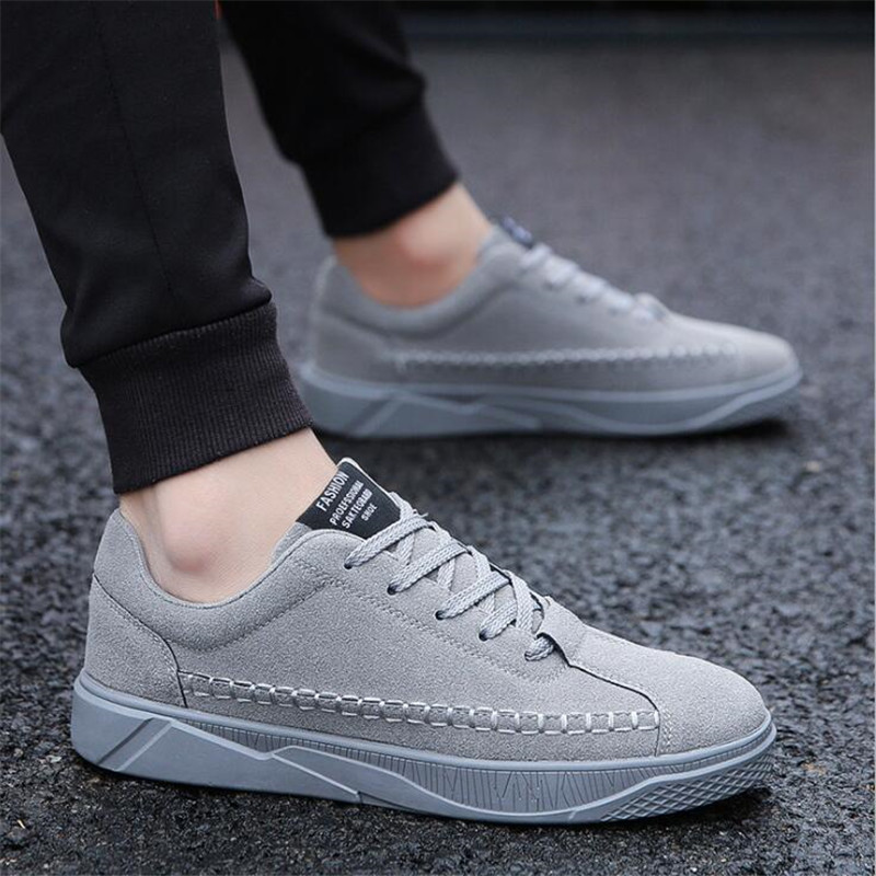 AGUTZM Male Sneakers Man Shoes Men's Fashion Non-Slip Comfortable New Solid Lace-Up Y72