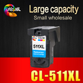 1pcs CL-511XL 511 511XL Remanufactured Ink Cartridge compatible For Canon iP2700 Pixma MP250 270 280 480 MX320 330 340 350