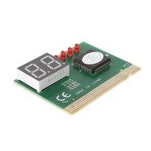 2-значный код Платы PCI анализатор материнской платы диагностический Сообщение тестер для ноутбука/ПК дропшиппинг
