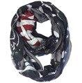 Панк мотоцикл американский флаг печать бесконечности цикл шарф сетку для волос женщин подарок зима аксессуары, Бесплатная доставка
