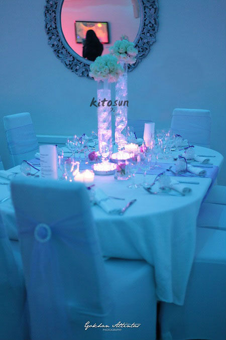 10pieces lot 6 Inch Wedding Party Supplies Round Uplighter Led Light Base For wedding party