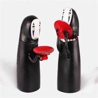 Kaonashi顔貯金箱おもちゃのマルチスタイル宮崎駿千と千尋デザイン自動食べコインクリスマスプレゼント