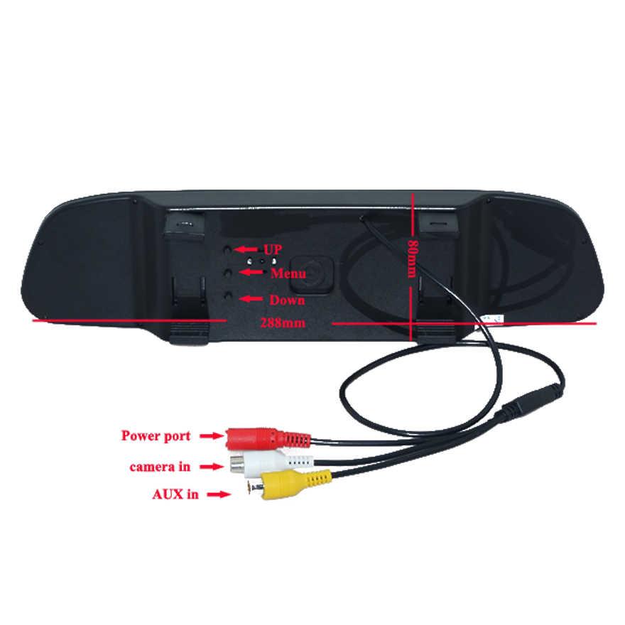 """4.3 """"дисплей автомобиля зеркало монитор с парковочная камера заднего вида для автомобилей Hyundai Elantra Terracan Тусон Акцент/для Kia sportage R 2011"""