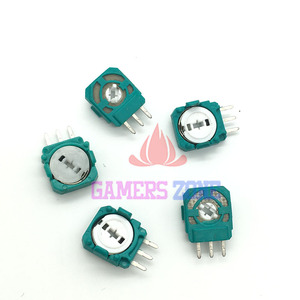 Image 3 - 100PCS For PS4 Joystick Axis Analog Sensor Green Part Module Micro Switch for Playstation4 PS4 Controller